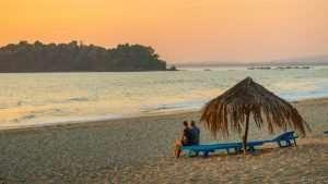 Sunset Ngwe Saung