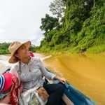 Boat ride to Kuta NP